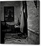 A Cell In Santa Barbara Mission Canvas Print
