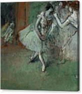 A Group Of Dancers Canvas Print