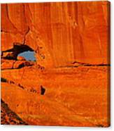 A Hole In The Rock Canvas Print