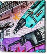 A Man's Tools Canvas Print