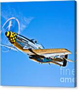 A North American P-51d Mustang Canvas Print