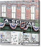 A Schwab Beale Street Memphis Canvas Print