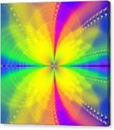 A Sun Goes Supernova Canvas Print