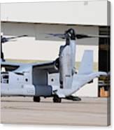 A U.s. Marine Corps Mv-22b Osprey Canvas Print