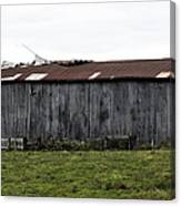 Abandoned Barn Kentucky Usa Canvas Print