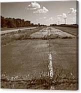 Abandoned Route 66 Canvas Print