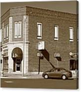 Abilene Kansas - 2nd And Broadway Canvas Print