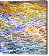 Abstract Background - Citylights At Night Canvas Print