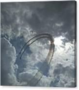 Aerial Display Canvas Print