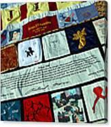 Aids Quilt -- 1 Canvas Print