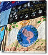 Aids Quilt -- 3 Canvas Print