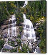 Alaskan Waterfall Canvas Print