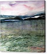 Alaskan Waters Canvas Print
