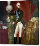 Alexander I (1777-1825) Canvas Print