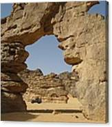 Algeria Desert Canvas Print