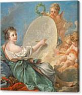 Allegory Of Painting Canvas Print