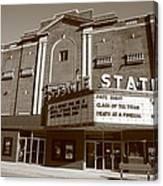 Alpena Michigan - State Theater Canvas Print