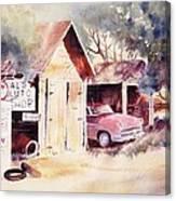 Al's Auto Shop Canvas Print