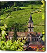 Alsace Church Canvas Print