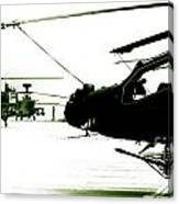 An Apache Ah64d Helicopter Canvas Print