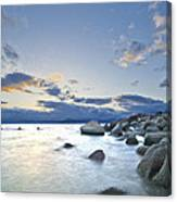 An Evening At Tahoe Canvas Print