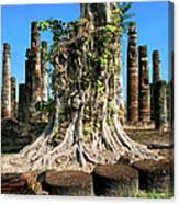 Ancient Temple Ruins Canvas Print