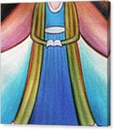 Angel Of Destiny Canvas Print