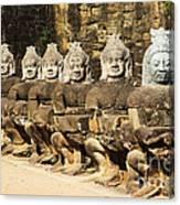 Angkor Thom Canvas Print