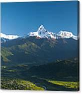 Annapurna Peak - Nepal Canvas Print
