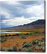 Antelope Island Canvas Print