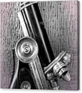 Antique Microscope Canvas Print