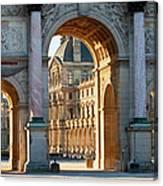 Arc De Triomphe Du Carrousel Canvas Print