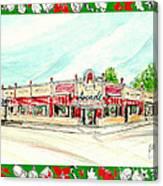 Arcade Restaurant Memphis Canvas Print