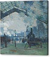 Arrival Of The Normandy Train Canvas Print