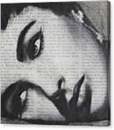 Art In The News 15-elizabeth Canvas Print