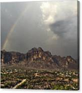 At The End Of The Rainbow  Canvas Print