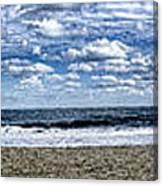 At The Ocean Hon Canvas Print