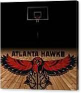 Atlanta Hawks Canvas Print