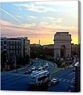 Atlantic Station Sunset Vista  Canvas Print