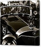 Auction Sale Last Ride Adolf Hitler's Model 770-k 1941 Mercedes-benz Touring Car Scottsdale Az 1973 Canvas Print