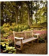 Azalea Garden Canvas Print