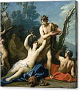 Bacchus And Ariadne Canvas Print