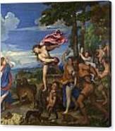 Bacchus And Ariadne Canvas Print