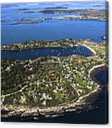 Bailey And Orrs Islands, Harpswell Canvas Print
