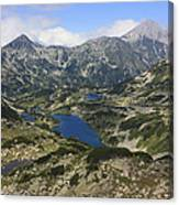 Banderishki Lakes Pirin National Park Bulgaria Canvas Print