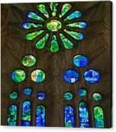 Basilica Sagrada Familia Canvas Print