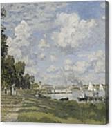 Bassin D'argenteuil Canvas Print