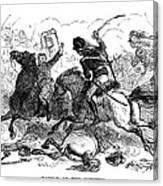 Battle Of Cowpens, 1781 Canvas Print