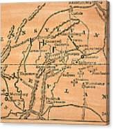 Battle Of Gettysburg, 1863 Canvas Print
