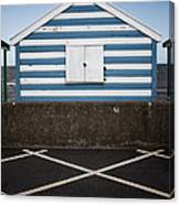 Beach Hut 41 Canvas Print